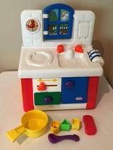 Little Tikes Door and Drawers Activity Kitchen Pretend Play Shape Sorter... - $49.99