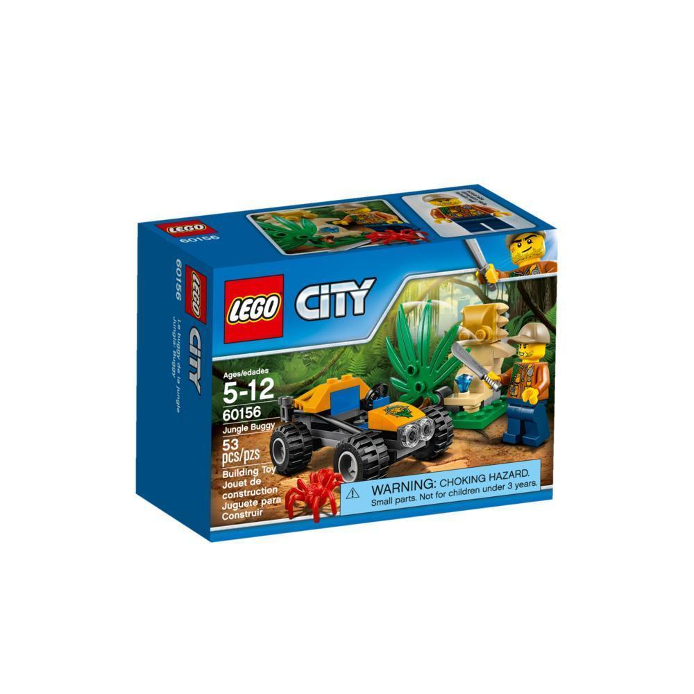 LEGO City Jungle Explorers - Jungle Buggy 60156 Building Toy [New]