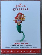 Hallmark 2016 Disney The Little Mermaid Under the Sea Ariel Ornament - MIB - $21.95