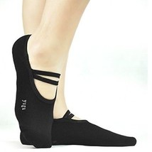 Yoga Socks Non Slip Anti Skid Pilates Dance Socks, Elutong Hospital Gri... - $12.23