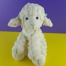 "Russ Berrie Plush Lola Sheep Lamb Stuffed Animal 10"" Ear Bows  - $22.76"