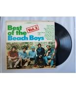 Best Of The Beach Boys Volume 2 Vinyl Record Vintage 1967 Capitol Records - $37.66