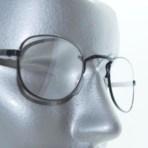 Reading Glasses Delicate Oval Lightweight Matte Black Metal Frame +1.75 Lens - $18.00