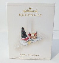 "Hallmark Keepsake Christmas Ornament ""Ready...Set...Grow"" 2006 MIB Great... - $9.49"