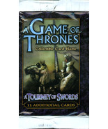 Game of Thrones A Tourney of Swords Expansion Set (NEW - 2004) 36 Packs ... - $175.00