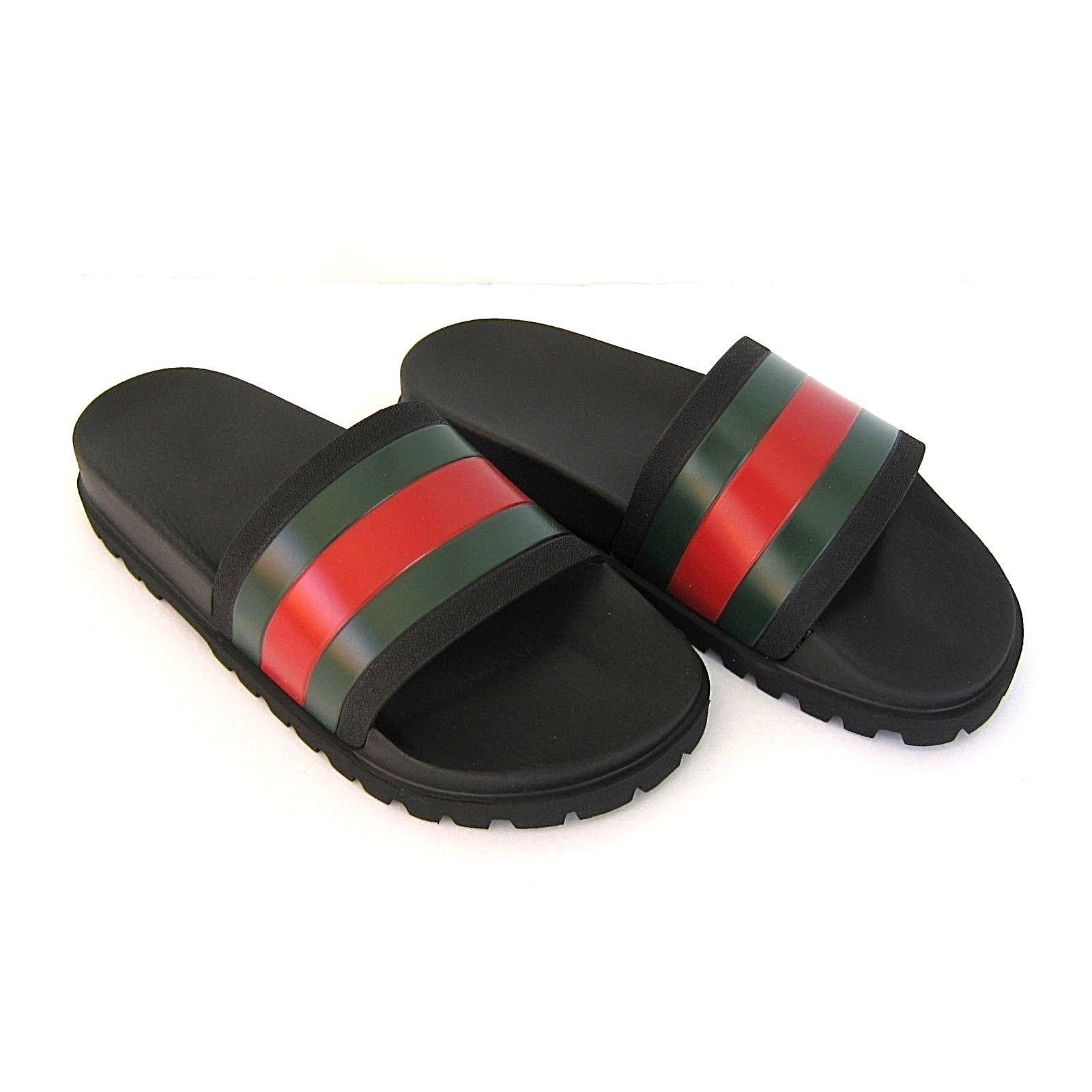 3ce0c6584d8c J-3186126 New Gucci V.R.V. Black Sandals and 49 similar items
