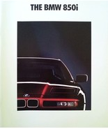 1991 BMW 850i V12 sales brochure catalog US 91 HUGE - $20.00