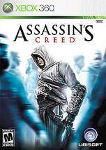 Assassin's Creed (Microsoft Xbox 360, 2007) Very Good + Bonus Disc - $5.96