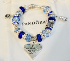 You had me at Woof - Authentic Jared Pandora bracelet - $129.00