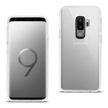 Reiko Samsung Galaxy S9 Plus Soft Transparent TPU Case In Clear White - $8.54