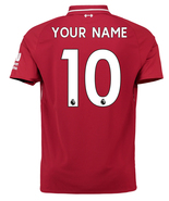 Liverpool Home CUSTOMISE NAME NUMBER 2018-19 Men Soccer Jersey Football ... - $36.99