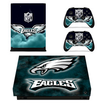 Xbox One X Console Skins Vinyl Decals Stickers Covers NFL Eagles Philadelphia - $12.08