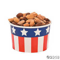 New Patriotic Snack Bowls 50 Piece(s) - $15.36