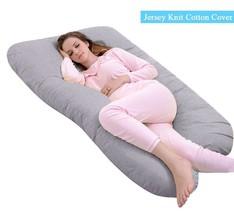 Pregnancy Pillow U Shape W/  Washable Jersey Pillow Case Maternity Pillows - $89.57