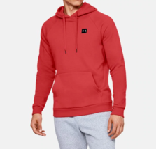 Under Armour Men's Rival Fleece Pullover Hoodie NEW AUTHENTIC Red 132073... - $34.49