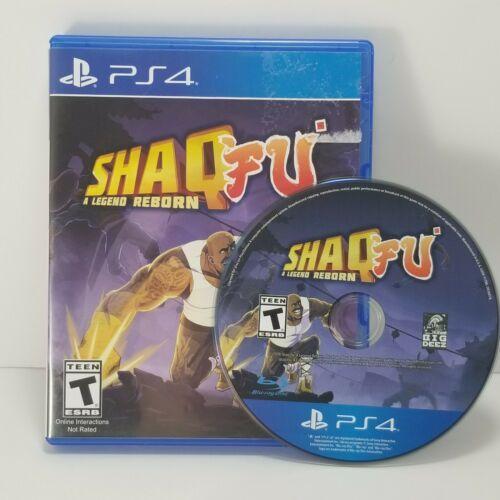 Shaq Fu: A Legend Reborn PS4 Video Game