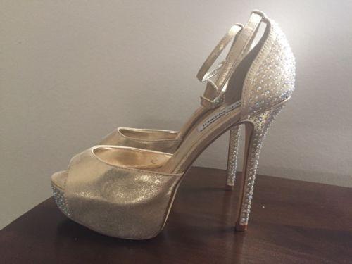 a297a1f5bca Steve Madden Nairi Womens Shimmer Gold and 50 similar items