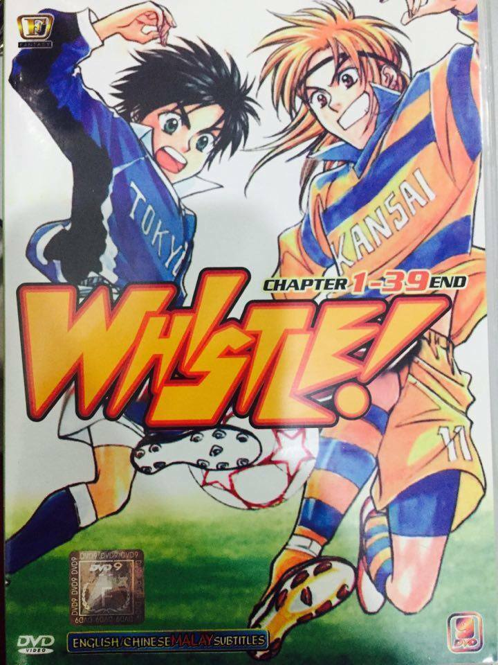Whistle chapter Vol. 1-39  Soccer DVD Ship from USA