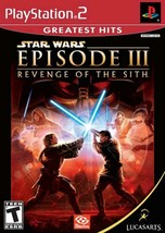 Star Wars Episode III Revenge of the Sith - PlayStation 2 - $46.35
