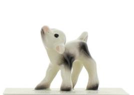 Hagen Renaker Miniature Cow Black and White Baby Calf Ceramic Figurine