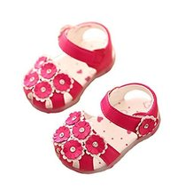 Princess Shoes 0-1-2 Years Old Baby Toddler Shoes Girls Summer Baby Sandals