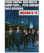 Vintage Rat Pack Dean Martin Frank Sinatra Movie Poster Oceans 11 - $21.00