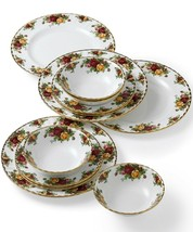 Royal Albert Old Country Roses 12- Piece Dinnerware Set, Service for 4 - $123.75