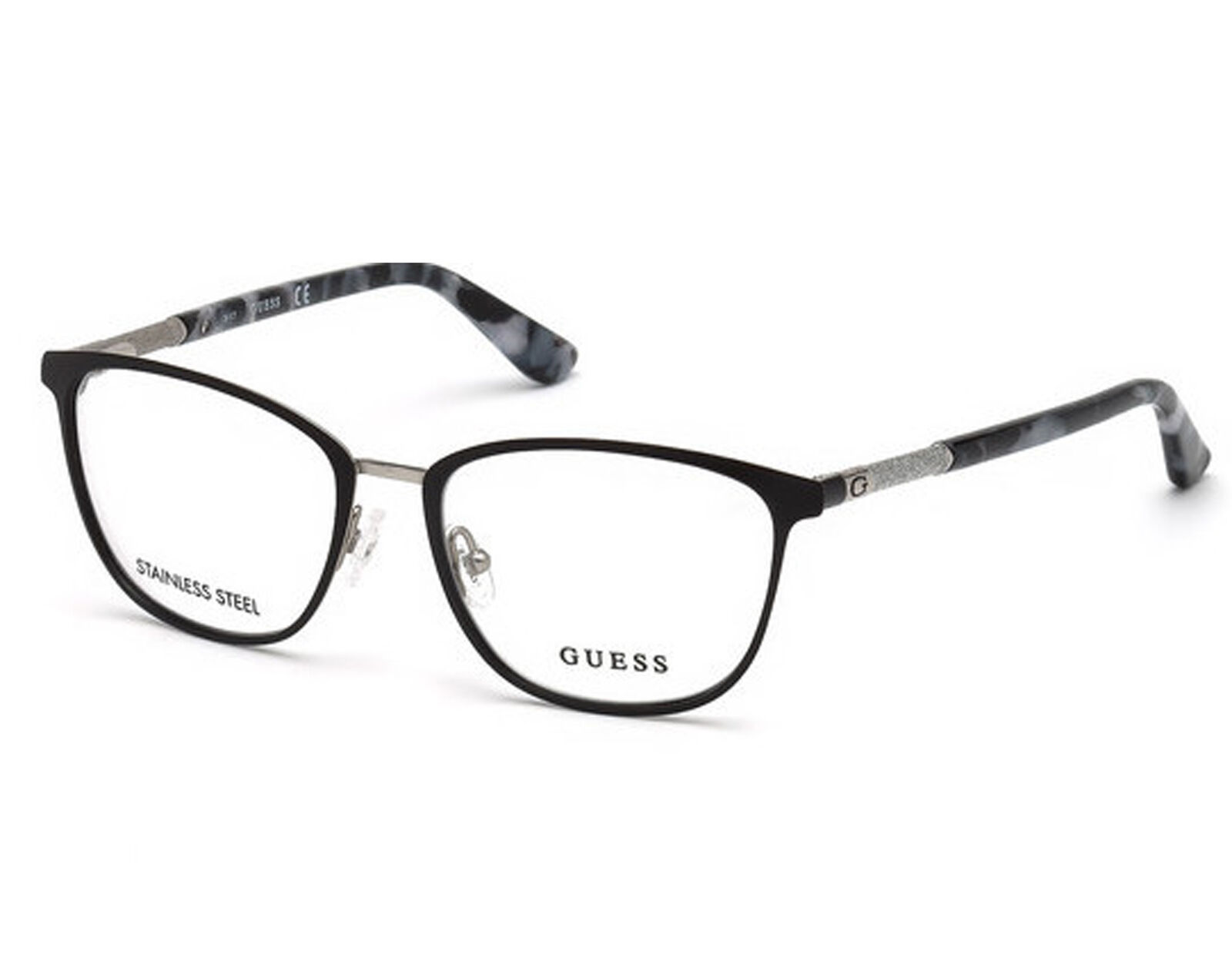 Primary image for NEW Guess 2659-51002 Matte Black 51mm Eyeglasses