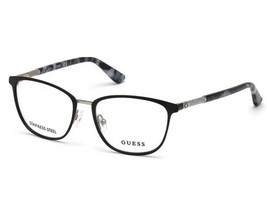 NEW Guess 2659-51002 Matte Black 51mm Eyeglasses - $56.70