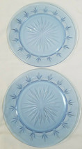 Vintage American Blue  By Avon 10 1/4 inch Dinner Plates - Set of 2, 1989 - $9.00