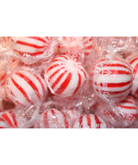 PEPPERMINT JUMBO MINT BALLS HARD CANDY, 1LB - $13.70