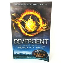DIVERGENT Veronica Roth 2012 Science Fiction Trade Paperback - $6.33