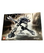 Lego Bionicle Vorahk 8591 Instruction Manual Booklet Only - $11.69