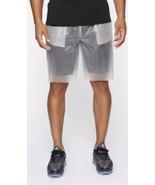 fashion nova men NWT men's pocket so clear mesh shorts Size L clear - $19.70