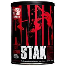 Universal Nutrition Animal Stak Natural Hormone Booster Supplement (Pack... - $41.83