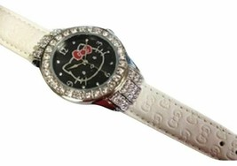 Authentic Sanrio Hello Kitty Embossed Belt Watch New In Box - $23.99
