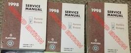 1998 OLDSMOBILE AURORA BUICK RIVIERA Service Shop Repair Manual Set 2ND ... - $39.55