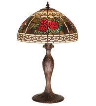 "22.5""H  Roses & Scrolls Table Lamp - £394.95 GBP"