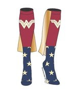 Wonder Woman Knee High Caped Socks Red - $14.98