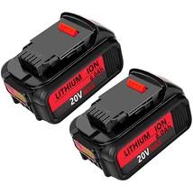 2Pack 6000Mah Dcb205 Replacement For Dewalt 20V Max Xr 20V Battery 6.0 - $106.99