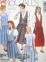 McCall's Sewing Pattern #4350 - Misses' Jumpers and Petticoat Uncut Pattern - $4.99