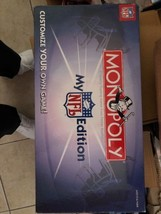 Hasbro Monopoly My NFL Football Edition Board Game complete - $20.00