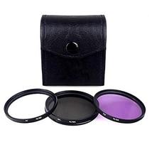 Vivitar 40.5mm 3-Piece Multi Coated Filter Kit UV+CPL+FLD - $40.99