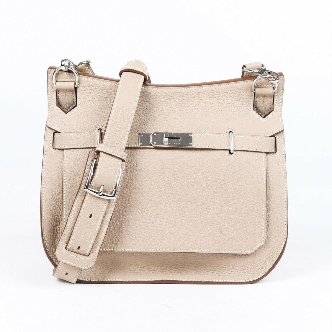 Hermes Jypsiere 28 Clemence Shoulder Bag
