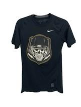 Nike pro compression men's t-shirt short sleeve black size M - $17.70