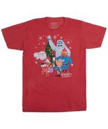 Rudolph Shirt The Red-Nosed Reindeer Yukon Christmas TV Movie Men's Medi... - $10.00
