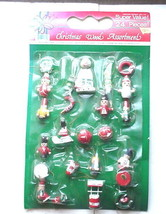 Christmas Wood Ornament Assortment - 24 pieces - $12.99