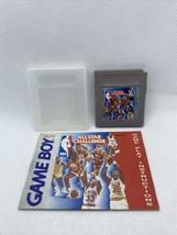 NBA All-Star Challenge (Nintendo Game Boy, 1991) Gameboy Cartridge With Manual - $21.78