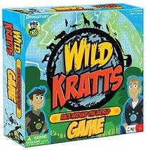 Pressman Wild Kratts Race Around The World Board Game - $24.91
