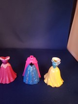 Polly Pocket Disney Princess Doll Magic Clip-On Dresses  - $10.00